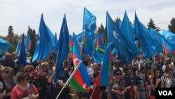 Müsavat partiyası 28 may -Respublika gününü qeyd edir