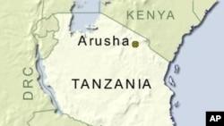 Ramani ya Tanzania.