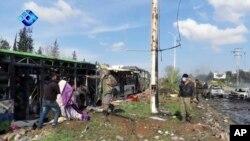 Las víctimas son en su mayoría residentes chiítas que estaban siendo evacuados de sus pueblos asediados por los rebeldes.
