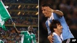 Trận đấu quan trọng tại bảng F diễn ra giữa Argentina và Nigeria tại Porto Alegre.