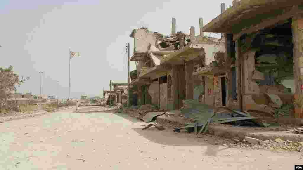 کوبانی شهری کرد نشین در شمال سوریه است