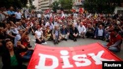 土耳其國會舉行抗議活動