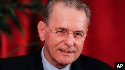 Президент МОК Жак Рогге