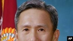 被南韓總統李明博提名接替金泰榮的新任國防部長金寬鎮