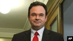 Ο Υπουργός Οικονομικών Γιώργος Παπακωνσταντίνου