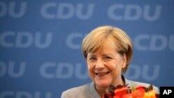 အႏုိင္ရ ဂ်ာမနီ၀န္ႀကီးခ်ဳပ္ Merkel အကဲစမ္းမႈမ်ားရင္ဆုိင္ဖုိ႔ ျပင္ဆင္
