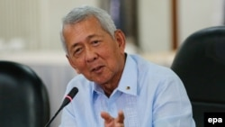 Menteri Luar Negeri Filipina, Perfecto Yasay Jr. (Foto: dok).