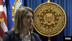 Jill Tyson, Directrice adjointe du Bureau des affaires du Congrès au FBI, le 15 janvier 2020 au quartier général du FBI à Washington