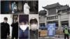 武汉新冠肺炎逝者家属张军(化名,左二)、PL(化名,左三)说,武汉政府把安葬亡者变成了维稳的政治任务。
