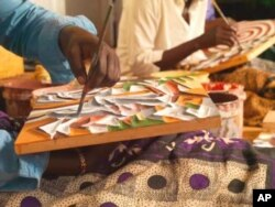 Rwandan students focus on the arts