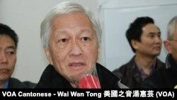 香港時事評論員李怡表示,新聞的最大功能就是防止政府的任何部門欺騙人民 (美國之音湯惠芸)