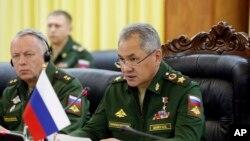 Rusiyanın müdafiə naziri Sergey Şoyqu