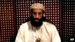 前幾天在美國在也門發動無人駕駛飛機空襲中被炸死的基地組織關鍵人物﹑美國出生的神職人員安瓦爾•奧拉基(資料圖片)