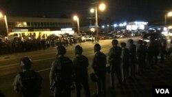 Phóng viên VOA tại Ferguson