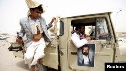 Pripadnici pobunjeničkog plemena Huti u Jemenu