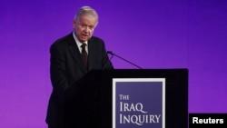 Sir John Chilcot encabezó la investigación sobre la particpación británica en la guerra en Irak.