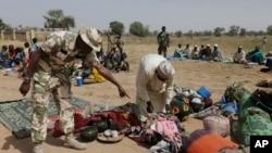 Deslocados na Nigéria devido ao Boko Haram