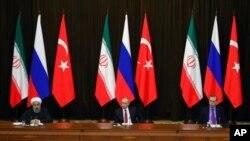 «Сирійський» саміт в столиці Туреччини Анкарі