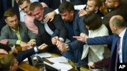 Верховная Рада, Киев 5 октября 2017