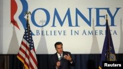 28일 펜실베이니아주 필라델피아에서 선거 유세를 펼치는 미트 롬니 후보.