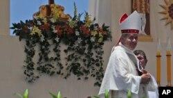 Obispo de Osorno, Juan Barros, está en el centro de un escándalo de abusos sexuales de sacerdotes católicos en Chile, acusado de encubrir abusos de su mentor, el clérigo Fernando Karadima.