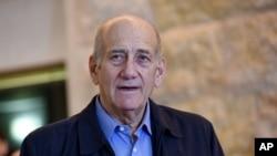 Mantan Perdana Menteri Israel Ehud Olmert.