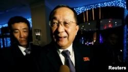 وزیر خارجہ رایانگ ہو (فائل فوٹو)
