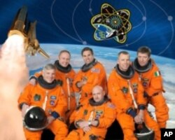 Endeavor Commander Mark Kelly [bottom center] with crewmates, will make the 36th and perhaps final mission to the International Space Station.
