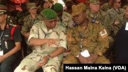 Abasirikare b'Amerika bo mu murwi wa AFRICOM hamwe n'abasirikare ba Burkina Faso