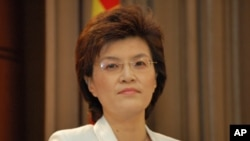 Jiang Yu, Chinese Foreign Ministry Spokeswoman