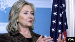 Clinton destacó que un informe de Human Rights Watch sobre Siria, coincide con el emitido por el departamento de Estado.