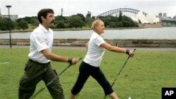 Dr. Freeman mengatakan kesehatan lebih baik bisa kita dapatkan apabila kita berolahraga sedikitnya 150 menit sepekan (foto: dok.).