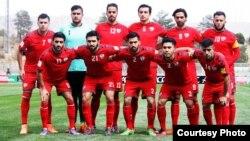 تیم ملی فوتبال افغانستان در میدان تختی تهران