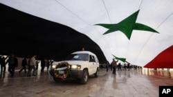 Οι συριακές δυνάμεις ασφάλειας επιτέθηκαν σε αντικυβερνητικούς διαδηλωτές