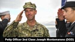 美國海軍作戰部長理查森上將資料照。