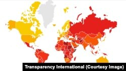 CORRUPTION PERCEPTIONS INDEX 2017