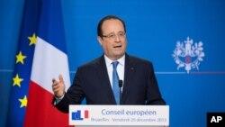 프랑수아 올랑드 프랑스 대통령 (자료사진)