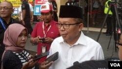 Sekjen Partai Persatuan Pembangunan (PPP) Arsul Sani menghadiri acara Visi Indonesia di Sentul, Bogor, Jawa Barat pada Sabtu (14/7). (Foto: Terkini.com/Sasmito)