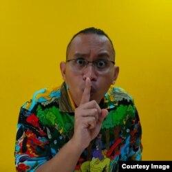 Muhammad Aryo Farid Zidni alias Aio dari komunitas dongeng Ayo Dongeng Indonesia (Ayodi) (foto: courtesy).