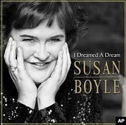"Susan Boyle's ""I Dreamed A Dream"" CD"