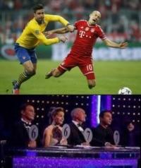 Robben's dive.