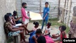Os clubes da iniciativa Dreams ajudam jovens órfãos e vulneráveis
