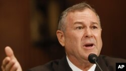 Rep. Dana Rohrabacher, R-Calif., testifies on Capitol Hill in Washington. (File Photo)