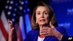 د امریکا د استازو د مجلس مشره نانسي پلوسي