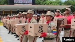 El Departamento del Tesoro de EE.UU. impuso el martes 17 de septiembre de 2019 nuevas sanciones contra funcionarios relacionados con los Comités Locales de Abastecimiento y Producción (CLAP) en Venezuela.