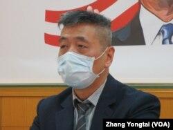 台灣國防安全研究院國防戰略與資源研究所所長蘇紫雲(美國之音張永泰拍攝)