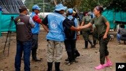 Casi 7.000 ex combatientes de las FARC se encuentran actualmente concentrados en 26 zonas del país en el proceso de dejación de armas que supervisa la ONU.