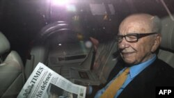 Medijski magnat Rupert Mardok, vlasnik Njuz Internešenela
