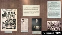 Cựu chiến binh từ cả 2 chiến tuyến của cuộc chiến tranh Việt Nam gặp mặt tại thành phố Hồ Chí Minh để mở màn một cuộc triển lãm chống chiến tranh trưng bày những hiện vật từ thập niên 1960 và 1970.