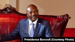 Le président Pierre Nkurunziza à Bujumbura au Burundi le 14 juin 2019. (Présidence Burundi)